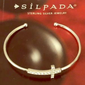 Silpada Cross Cuff Bracelet